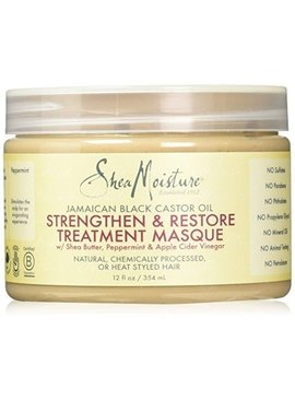 Shea Moisture SHEA MOISTURE - JAMAICAN BLACK CASTOR OIL HAIR TREATMENT MASQUE 340G
