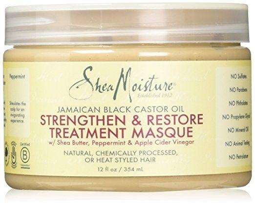 Shea Moisture SHEA MOISTURE - JAMAICAN BLACK CASTOR OIL HAIR TREATMENT MASQUE 340G