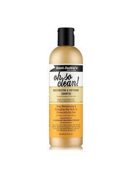 Aunt Jackie's Curls & Coils AUNT JACKIE'S CURLS & COILS - OH SO CLEAN! MOISTURIZING & SOFTENING SHAMPOO 12 OZ
