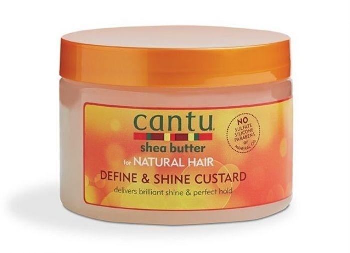 Cantu Shea Butter CANTU SHEA BUTTER - FOR NATURAL HAIR DEFINE & SHINE CUSTARD 340 GR