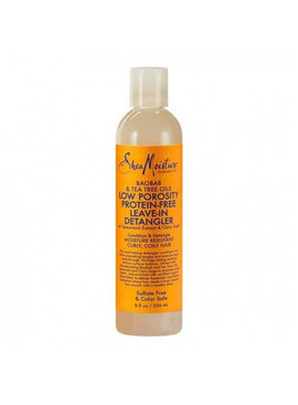 Shea Moisture SHEA MOISTURE – BAOBAB & TEA TREE OILS LOW POROSITY PROTEIN-FREE LEAVE-IN DETANGLER 8 OZ