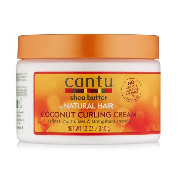 Cantu Shea Butter CANTU SHEA BUTTER - NATURAL HAIR COCONUT CURLING CREAM 340 GR