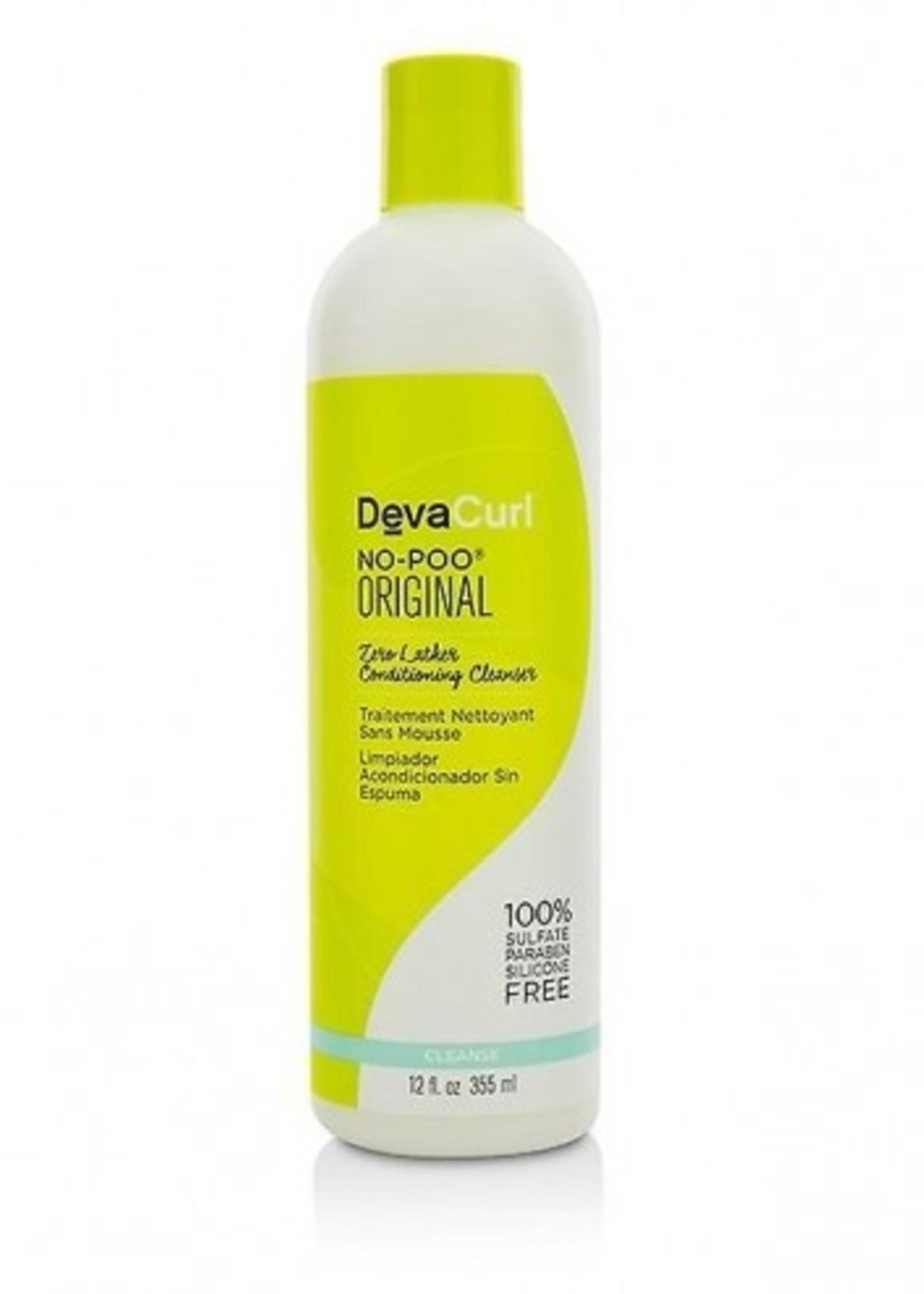 DevaCurl DevaCurl - NO-POO ORIGINAL ZERO LATHER CONDITIONING CLEANSER 355 ML
