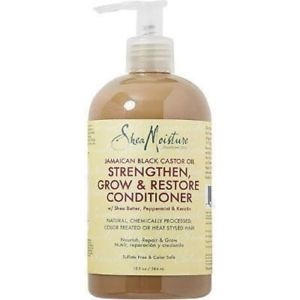 Shea Moisture SHEA MOISTURE - JAMAICAN BLACK CASTOR OIL GROW & RESTORE RINSE OUT CONDITIONER 13OZ