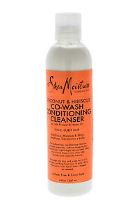 Shea Moisture SHEA MOISTURE COCONUT & HIBISCUS CO-WASH CONDITIONING CLEANSER 8 OZ/ 237 ML