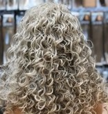 Synthetische Wig Roots /Ash Blonde Curly - Leona