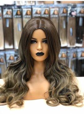 Synthetische Wig  - Ombre Chocolate Brown/Honey - Ciara