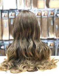 Synthetische Wig Ombre Chocolate Brown/Honey - Ciara