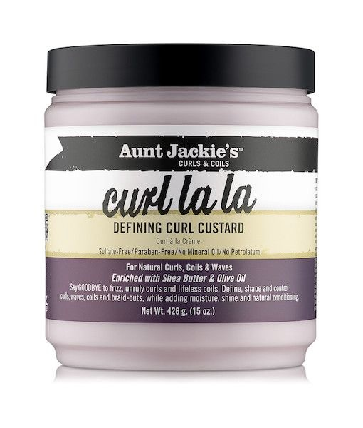 Aunt Jackie's Curls & Coils AUNT JACKIE'S CURLS & COILS - CURL LA LA DEFINING CURL CUSTARD 15 OZ
