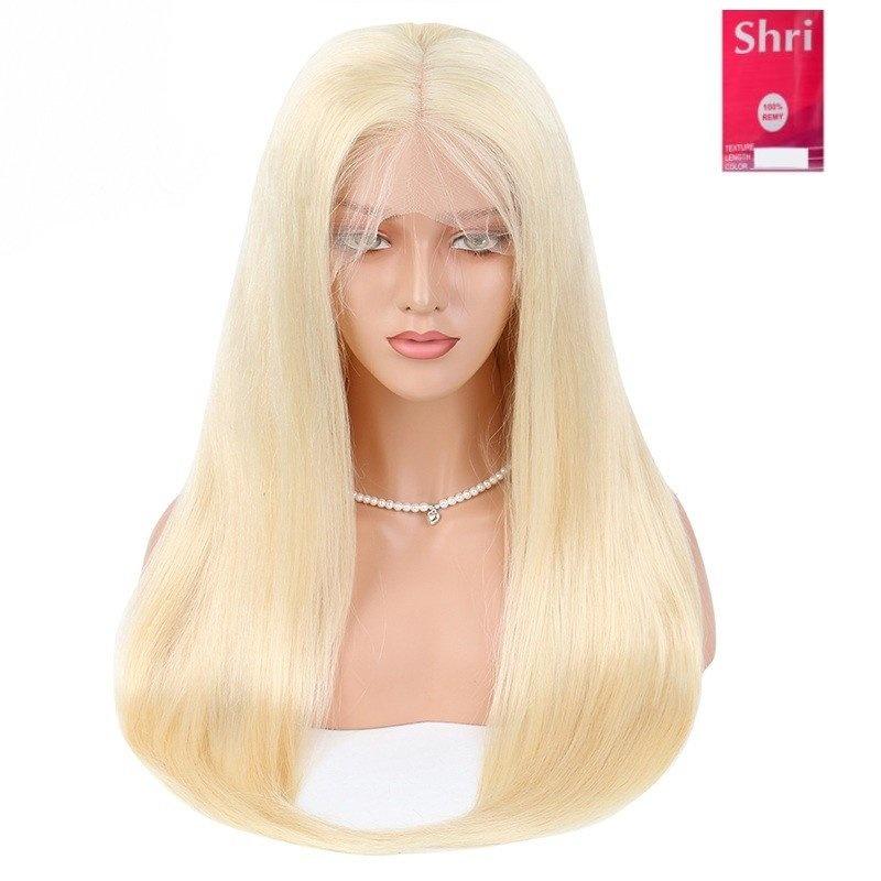 SHRI Indian (Shri) Human Hair (BLOND #613) Front Lace Wig (Steil)