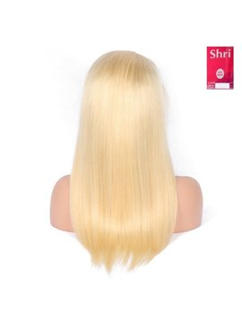 Indian (Shri) Human Hair (BLOND #613) Front Lace Wig (Steil)