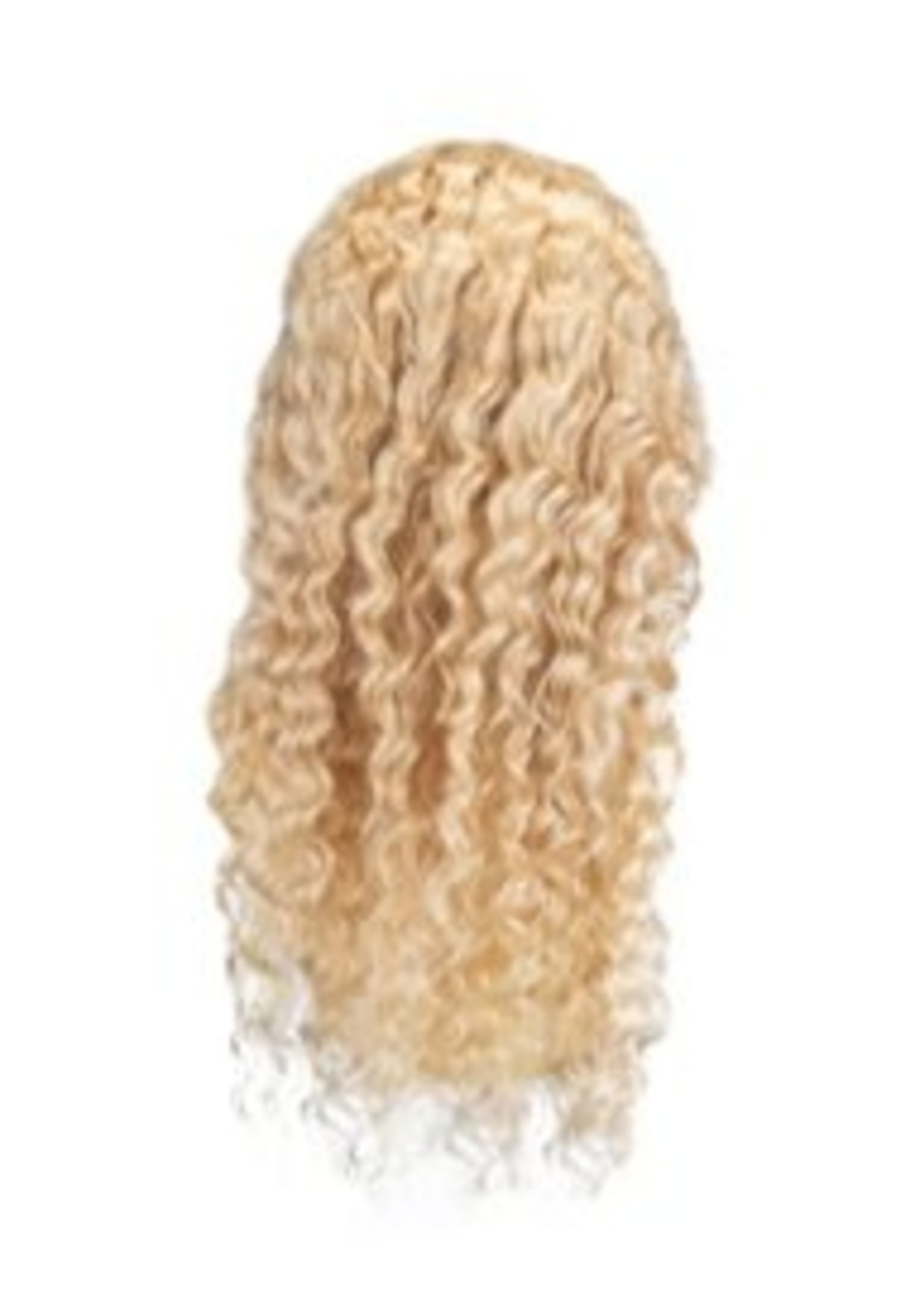 SHRI Indian (Shri) Human Hair (BLOND #613) Front Lace Wig (Deep Wave)