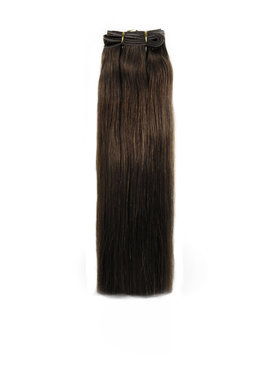 SHRI Indian (Shri) Hair weave (Steil) - #4 Chocolate Brown