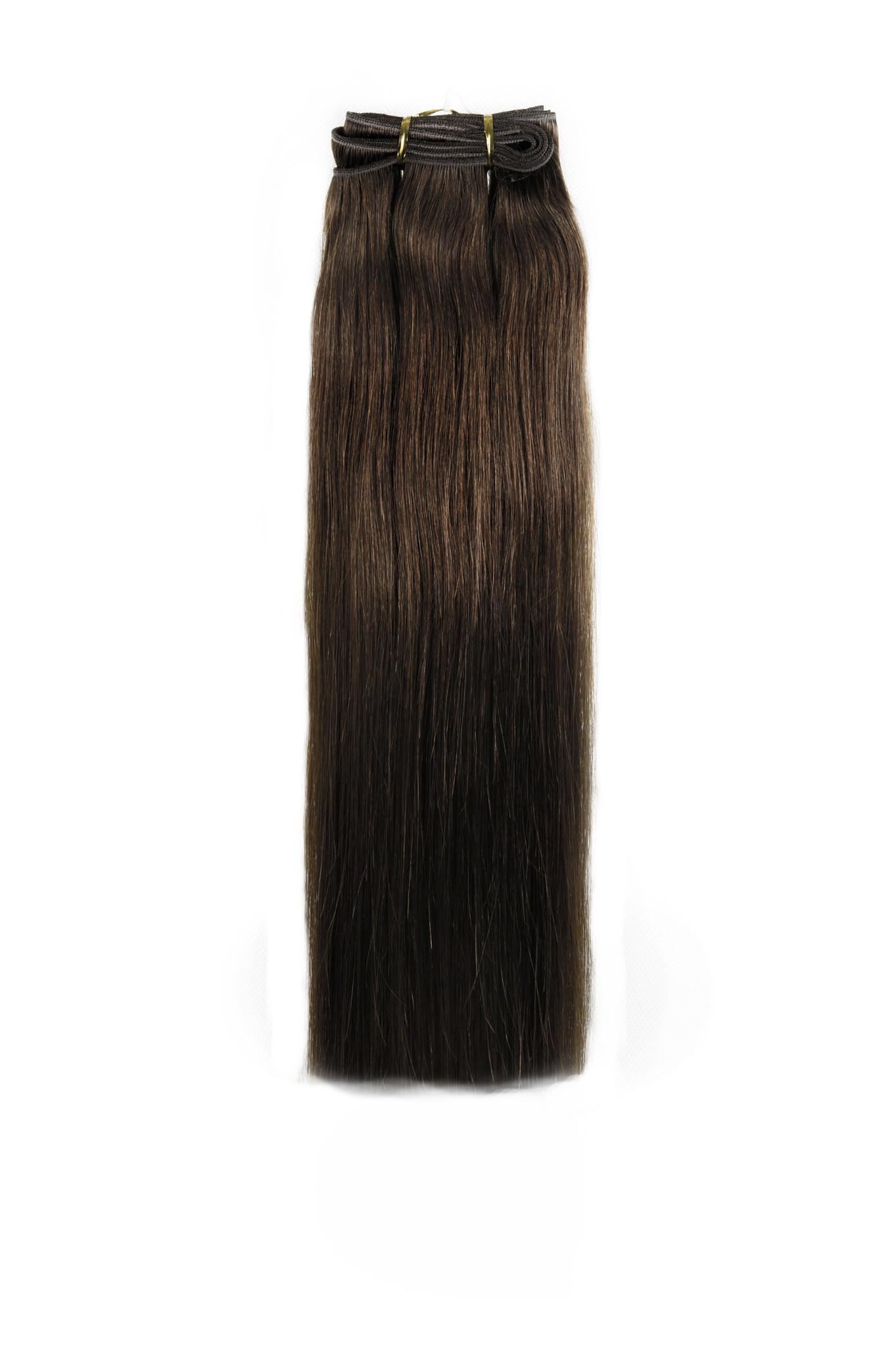 SHRI Indian (Shri) Hair weave (Steil) - #4 Chocolate Brown