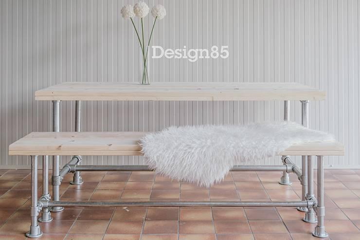 Industriele Tafel En Bank.Industriele Bank Basic Koop Je Bij Design85 Voor Binnen Buiten