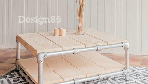 Steigerbuis salontafel