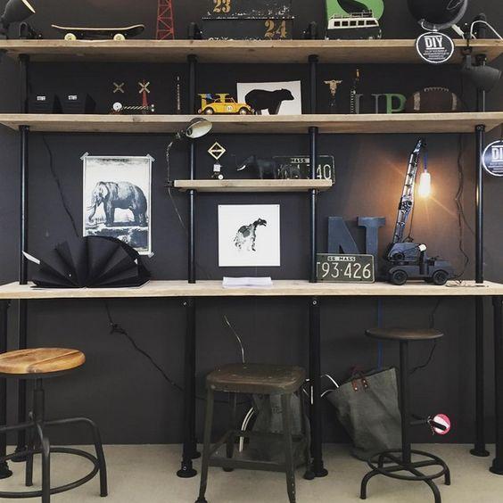 De Steigerbuizen Kast Wand Koop Je Bij Design85