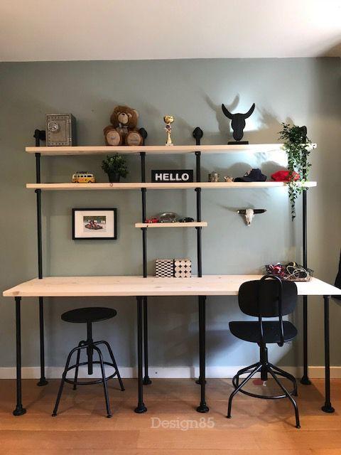 Vintage bureau Gaaf thuiswerkplek