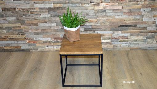 Salontafel steigerhout met stalen frame