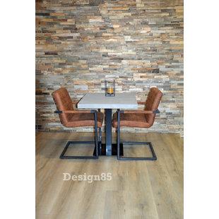 Industriële steigerhout eettafel Moeras