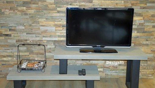 Industrieel TV meubel van Design85