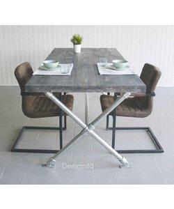 Steigerbuis Kruispoot tafel