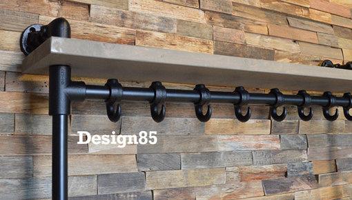 Industriële kapstok van Design85 | Gratis bezorging