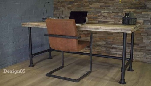 Bureau steigerhout van Design85