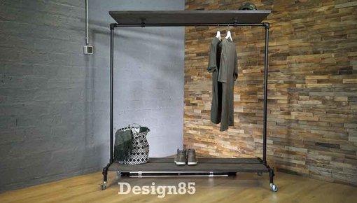 Kledingrek zwart van Design85