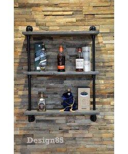 Steigerbuis kast Whiskey