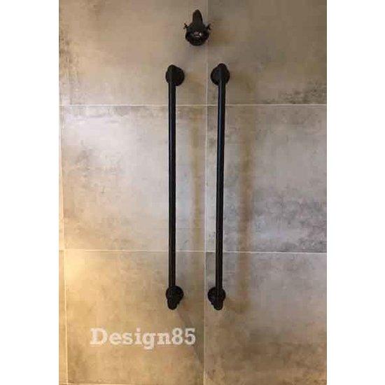 Handdoekrek Industrieel Zwart Online Kopen Design85 Design85