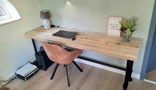 Thuiswerken in coronatijd doe je met industriële meubelen