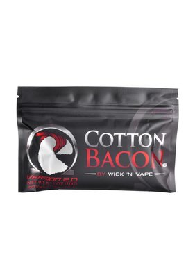 Wick 'N' Vape Cotton Bacon Bits Version 2 (10 gram Package)