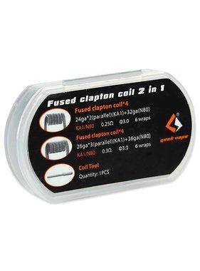 Geek vape Geek Vape Fused Clapton Coil 2 in 1
