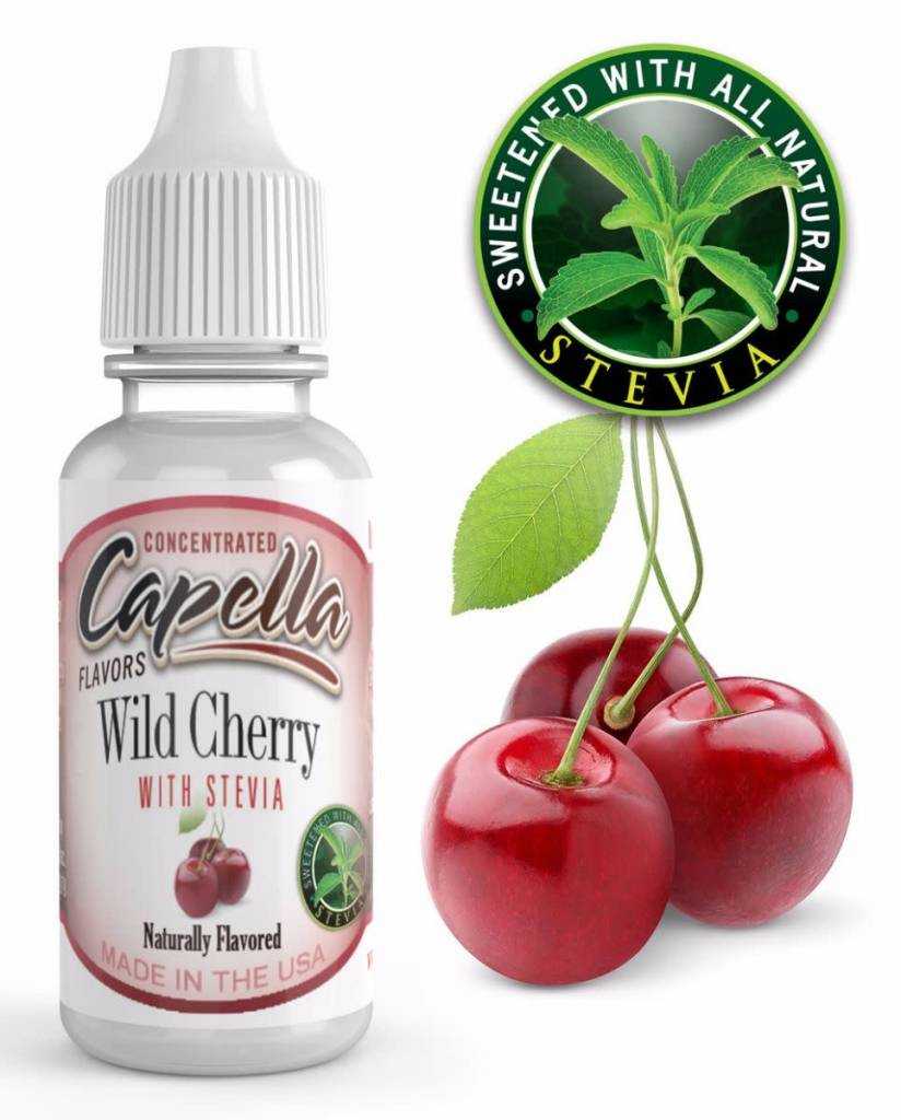 Capella Capella Wild Cherry with Stevia 13ml