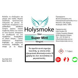 Holysmoke Holysmoke Super Mint 10ml