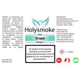 Holysmoke Holysmoke Grape 10ml