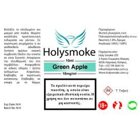 Holysmoke Holysmoke Green Apple 10ml