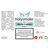 Holysmoke Holysmoke Vanilla Custard 10ml