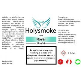 Holysmoke Holysmoke Royal Tobacco 10ml