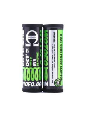 Wotofo Wotofo Dual Core Fused Clapton 28x2+38 0.62ohm (10pcs)