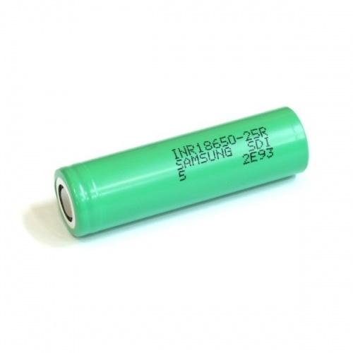 Samsung Samsung 25R 18650 Li-Ion Battery 2500mAh 20A