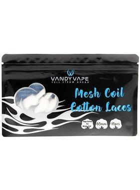 VandyVape Vandy Vape Mesh Coil Cotton Laces (Pack of 10)