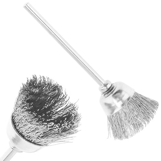 Mini Cleaning Brush (Stainless)