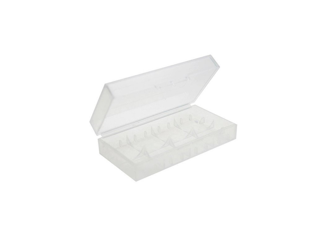 18650 Dual Plastic Battery Case