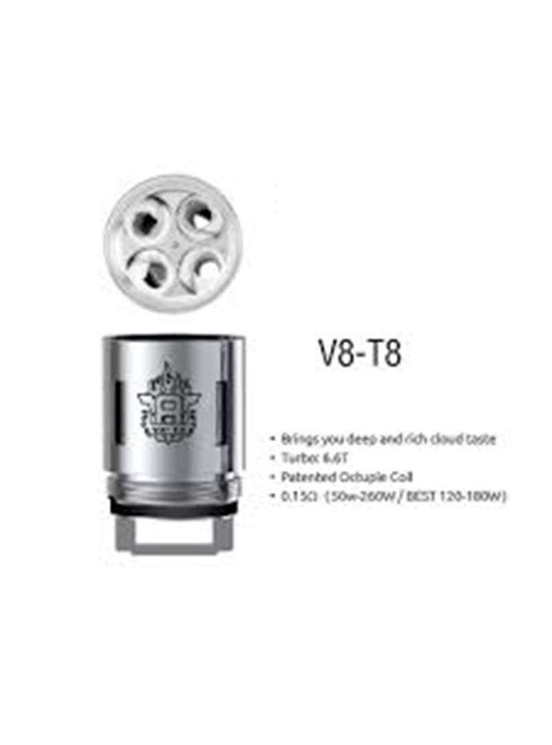 Smok Smok TFV8 Replacement Coil V8-T8 (1pc)