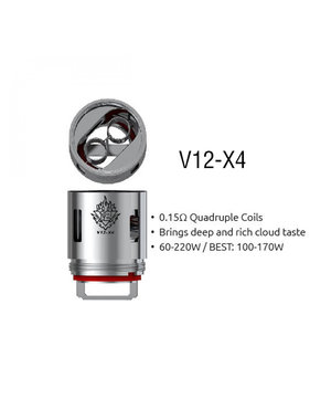 Smok Smok TFV12 Replacement Coil V12-X4 (1pc)