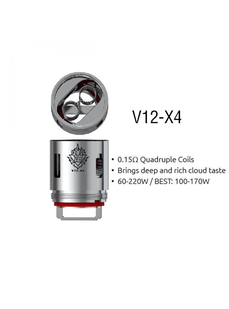 Smok Smok TFV12 Replacement Coil V12-X4 (1pc)