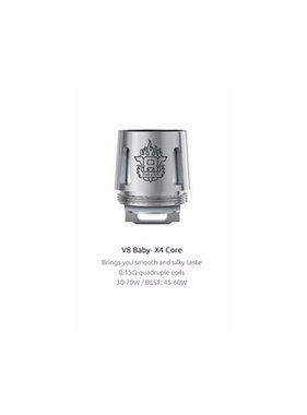 Smok Smok V8 X Baby Replacement Coil - X4 (1pc)