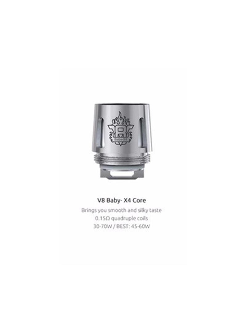 Smok Smok V8 X Baby Replacement Coil - X4 (1pc)